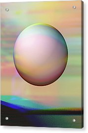 Sunrise Visitor Acrylic Print by Wendy J St Christopher