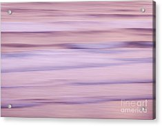 Sunrise Waves 1 Acrylic Print by Elena Elisseeva
