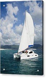 Sunsail Catamaran Acrylic Print