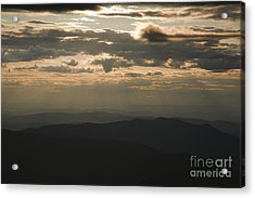 Sunset - White Mountains New Hampshire Usa Acrylic Print by Erin Paul Donovan