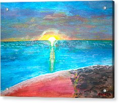 Sunset-1 Acrylic Print