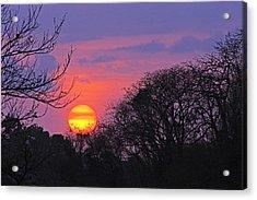 Sunset 1-st Lucia Acrylic Print