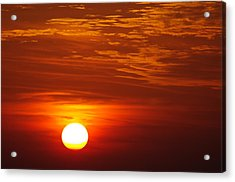 Sunset 11 Acrylic Print by Don Prioleau