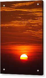 Sunset 13 Acrylic Print by Don Prioleau