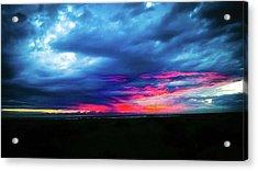 Sunset #2 Acrylic Print