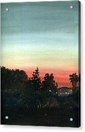Sunset #26 Lemon Grove Acrylic Print