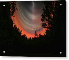 Sunset 3 Acrylic Print by Tim Allen