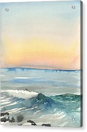 Sunset 33 - La Jolla Acrylic Print