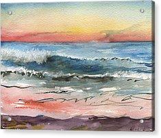 Sunset 39 Imperial Beach Acrylic Print