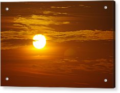 Sunset 4 Acrylic Print by Don Prioleau