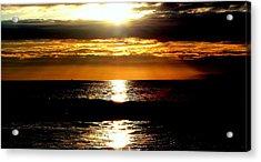 Sunset 4 Acrylic Print by J Perez