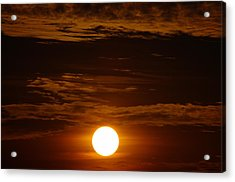 Sunset 5 Acrylic Print by Don Prioleau