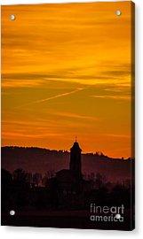 Sunset 6 Acrylic Print by Jean Bernard Roussilhe