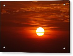 Sunset 8 Acrylic Print by Don Prioleau