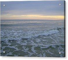 Sunset Along Oak Island Acrylic Print