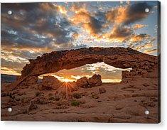 Sunset Arch Acrylic Print
