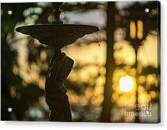 Acrylic Print featuring the photograph Sunset At Alameda Apodaca Cadiz Spain by Pablo Avanzini