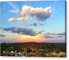 Sunset At Alice Springs #2 Acrylic Print