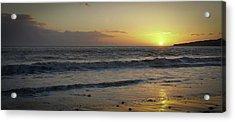 Sunset At Barry Acrylic Print