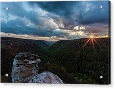 Sunset At Blackwater Falls State Park Acrylic Print