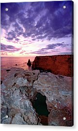 Sunset At Cabo Rojo Acrylic Print by George Oze
