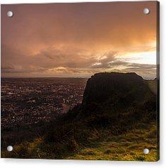 Sunset At Cavehill Acrylic Print