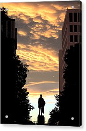Sunset At Christchurch Acrylic Print