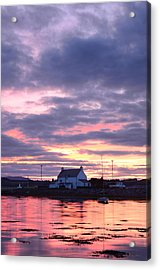 Sunset At Clachnaharry Acrylic Print