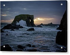 Sunset At Elephant Rock Acrylic Print