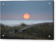 Sunset At Halfmoon Bay Acrylic Print