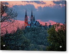 Sunset At Holy Hill Acrylic Print