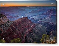 Sunset At Hopi Point Acrylic Print by Jamie Pham