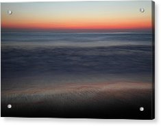 Sunset At Huntington Beach Acrylic Print by Pierre Leclerc Photography