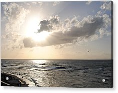 Sunset At Jaffa Beach 17 Acrylic Print