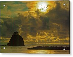 Acrylic Print featuring the photograph Sunset At Jones Island by Dale Stillman