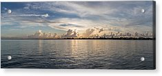 Sunset At Key Largo Acrylic Print