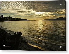 Sunset At Kitsilano Acrylic Print