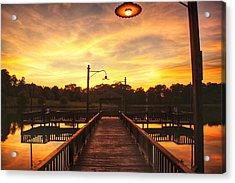 Sunset At Lake Patsy  Acrylic Print