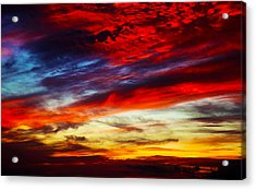 Sunset At Louie's Acrylic Print