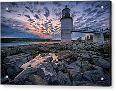 Sunset At Marshall Point Acrylic Print