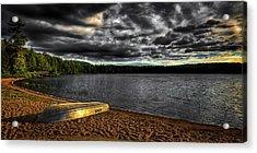 Sunset At Nicks Lake Acrylic Print by David Patterson