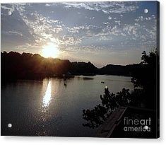 Sunset At Occoquan Acrylic Print