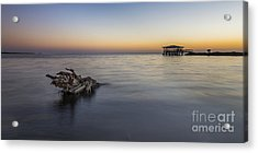 Sunset At Port St. Joe Acrylic Print by Twenty Two North Photography