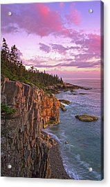 Sunset At Ravens Nest Acrylic Print by Juergen Roth