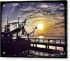 Sunset At Snoopy's Acrylic Print