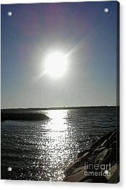 Sunset At Solomons Island Md Acrylic Print