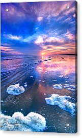 Sunset At Sunset Acrylic Print by Dan Carmichael