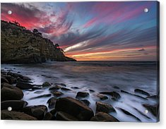 Sunset At The Cove Acrylic Print