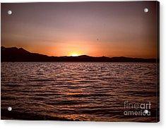 Sunset At The Lake 2 Acrylic Print