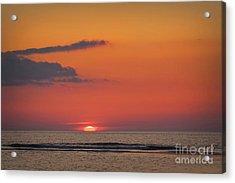 Sunset At The Sea Acrylic Print
